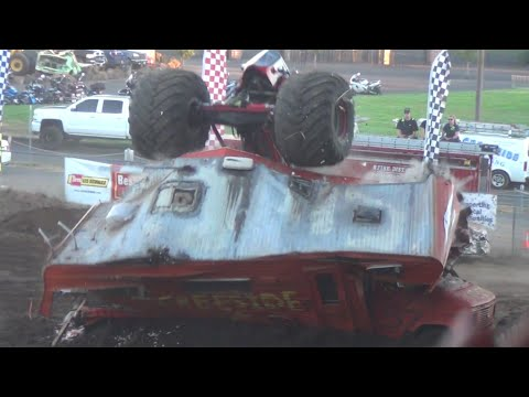 Monster Truck freestyle 7p.m. show @ Clark County Fair 2016
