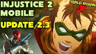 Injustice 2 Mobile 2.3 Update Review. Empty Update? Red Hood, Batman Ninja Characters, All Changes.