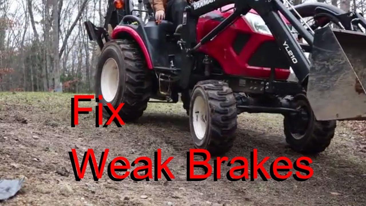 Quick Tip Yanmar Brake Adjustment