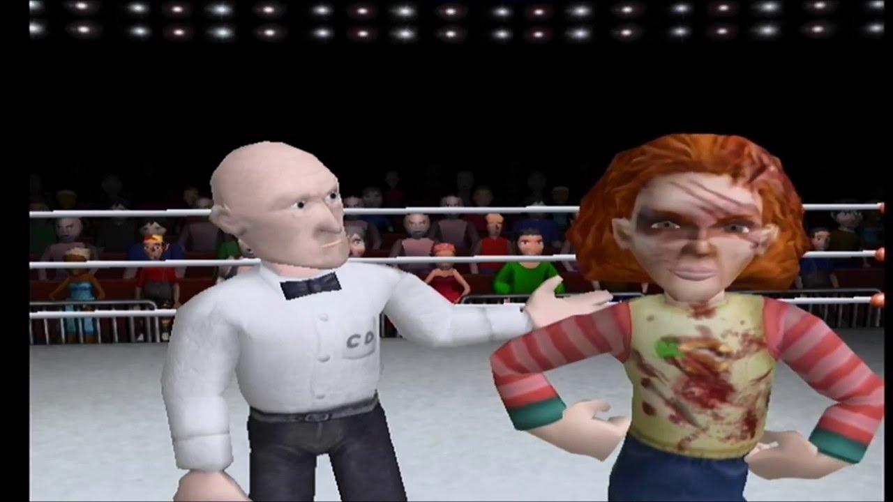 Celebrity Deathmatch PS2 XBox Version - YouTube