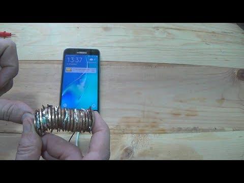 Заряжаем телефон из обычных монет\Charge The Phone From Ordinary Coins