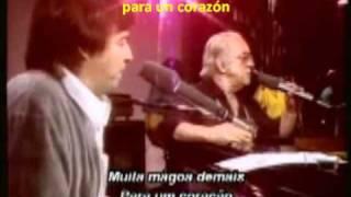 AGUA DE BEBER.-Tom y Vinicius .- Letra y subtítulos en Español