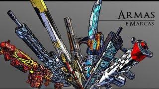 Borderlands 2: Todos os Tipos de Armas!