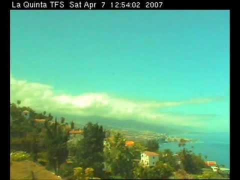 WebCam La Quinta Park Tenerife Islas Canarias - Teneriffa Kanarische Inseln