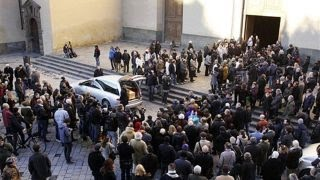 Funeral held for American murdered in Florence, Italy