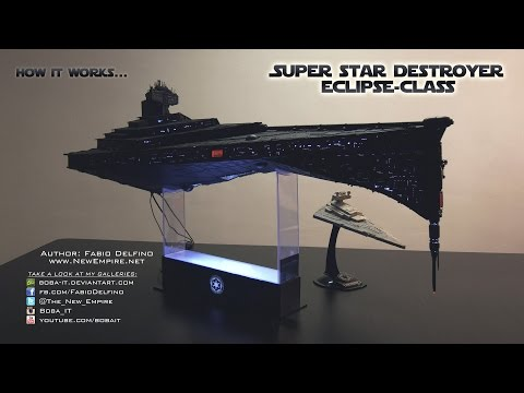 Super Star Destroyer Eclipse-class - Star Wars model - 4K UHD