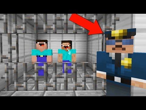 НУБЫ ДЕЛАЮТ ПОБЕГ ИЗ ТЮРЬМЫ В МАЙНКРАФТ ! НУБ НЕВИДИМКА СПАСАЕТ НУБИКА ОТ ОХРАНЫ В MINECRAFT - Видео из Майнкрафт (Minecraft)