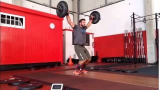 Carlos Rivas - CrossFit Pontevedra - Spanish Throwdown 2015  - Qualification WOD 2