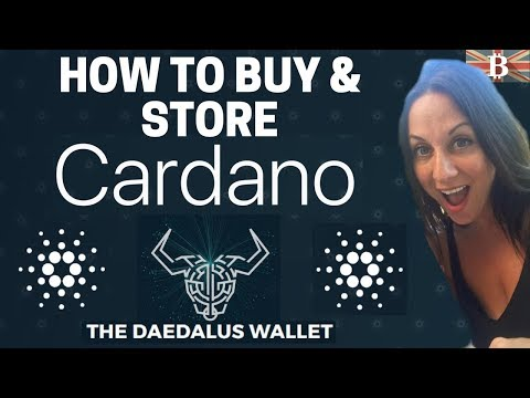 Cardano Daedalus Wallet Tutorial: How to Store ADA