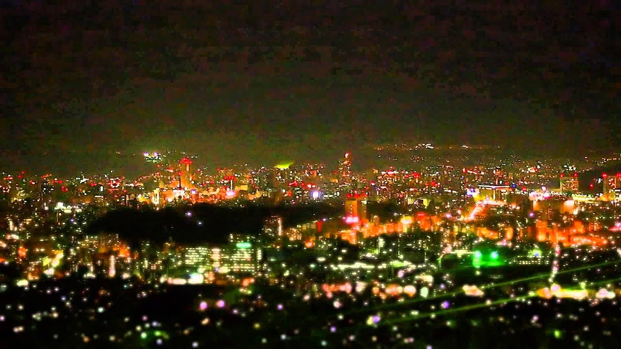 夜景 黄金山