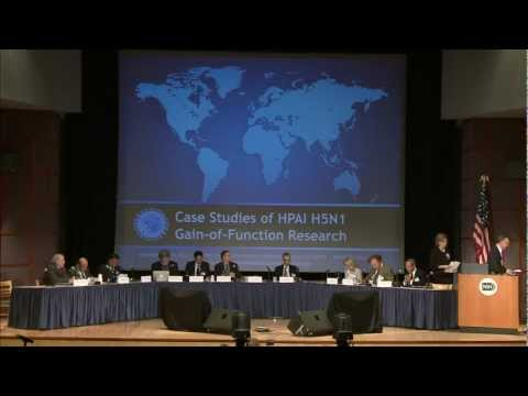 Panel IV: Discussion of HPAI H5N1 GOF Research Case Studies