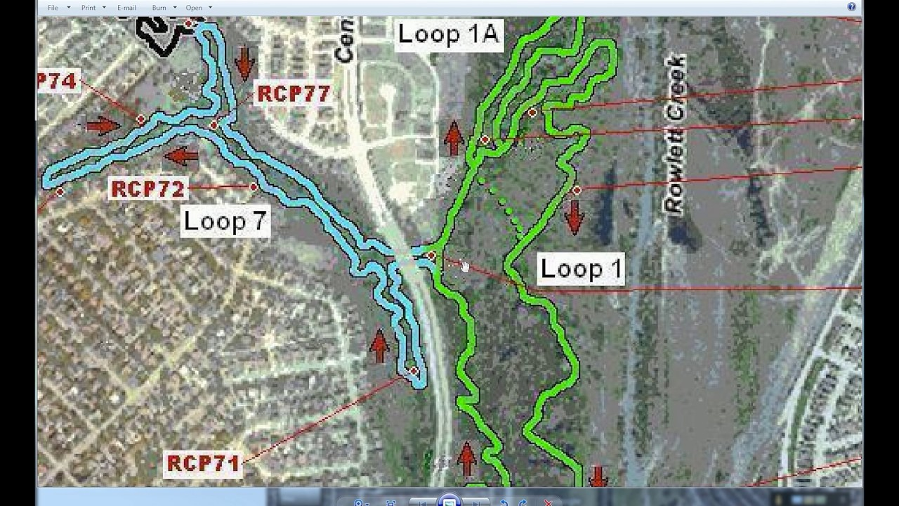 Rowlett Creek Trails - Introduction on my map, uh map, oh map, daylight map, people map, no map,
