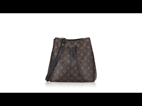 Louis Vuitton Monogram Neonoe Noir
