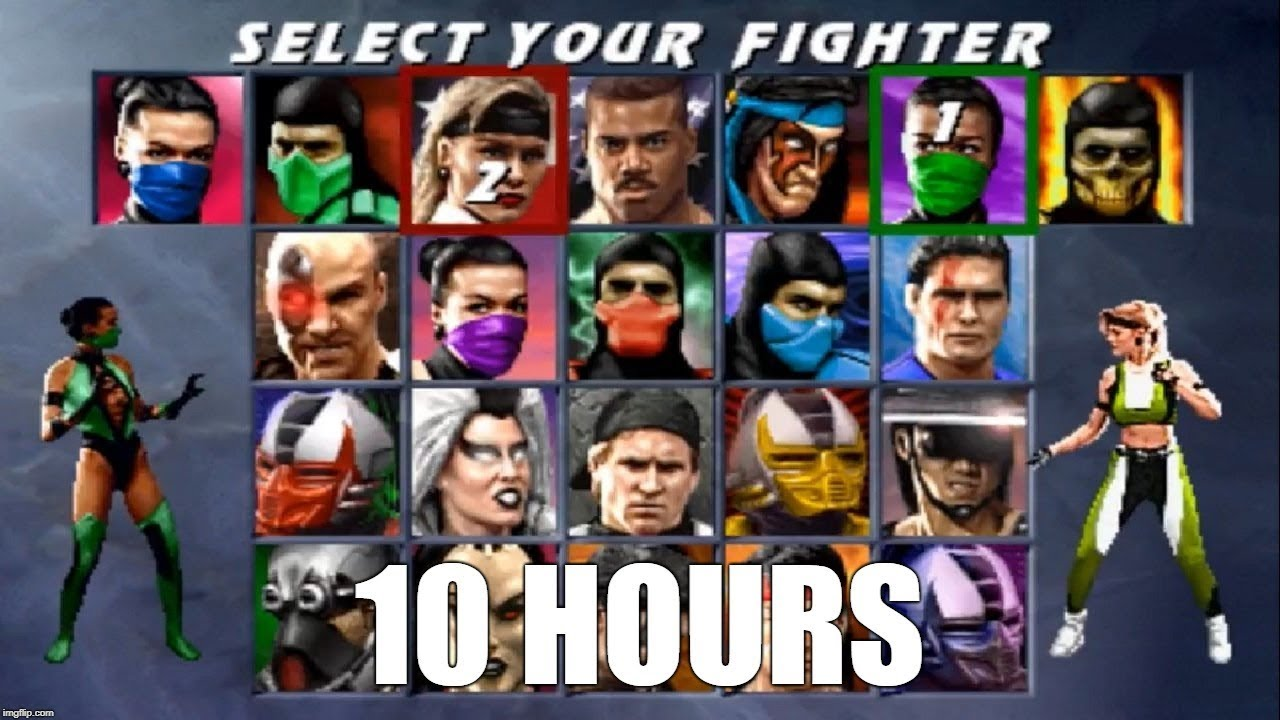 Ultimate Mortal Kombat 3 (Arcade) - Character Select Theme Extended (10  Hours)