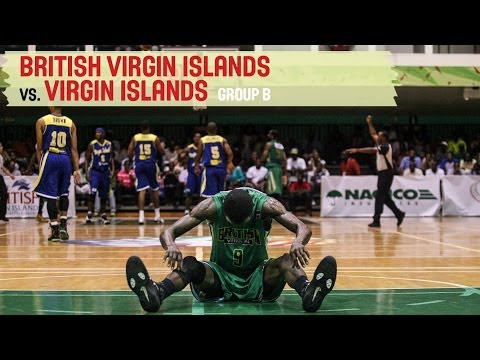 Virgin Islands vs. British Virgin Islands - Group B - 2014 CBC Championship