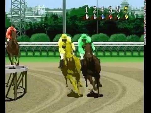Winning Post Sega Saturn Intro Gameplay Youtube