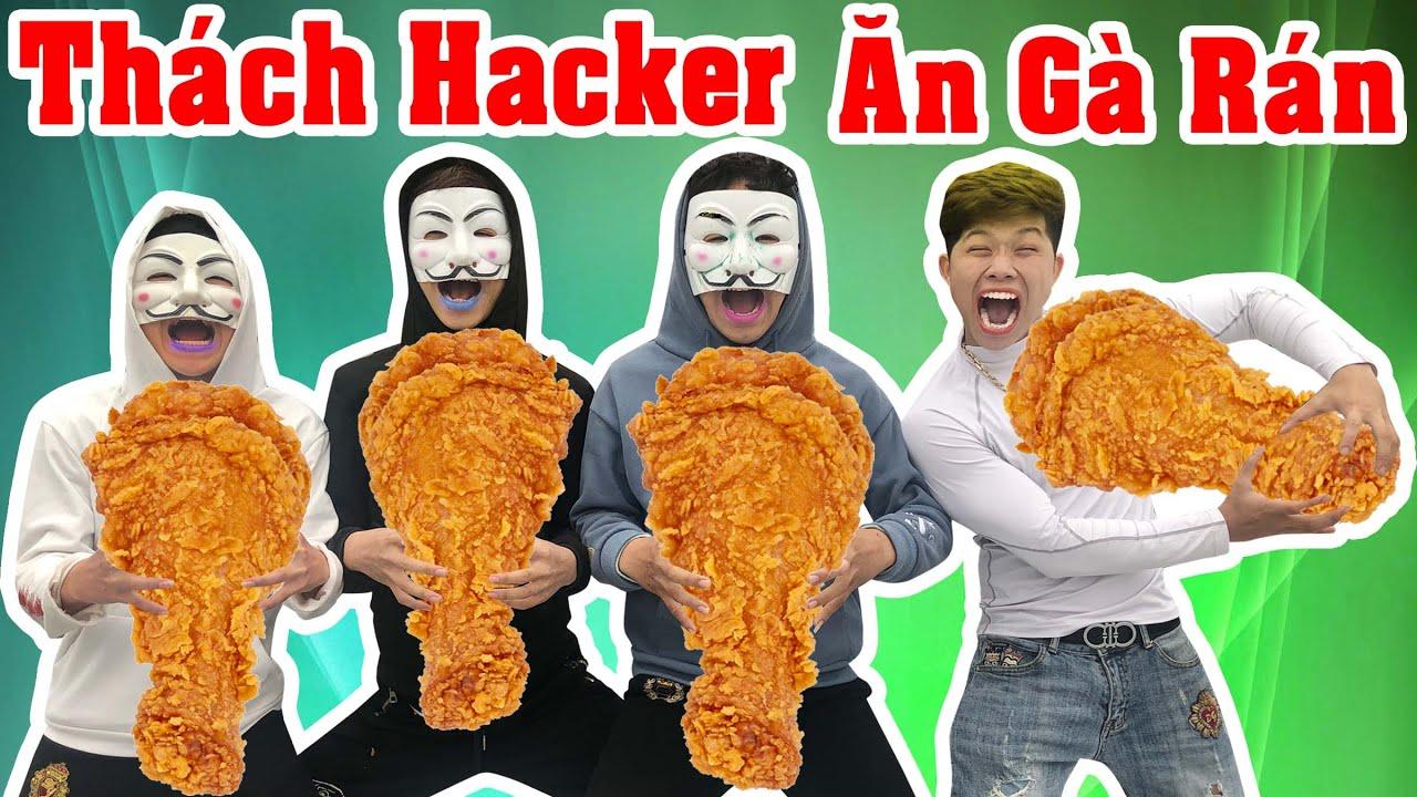Thử Thách Ai Ăn Gà Rán KFC Cuối Cùng Với Hacker – Hacker Bí Mật Đột Nhập Nhà Kiên Hư Hỏng