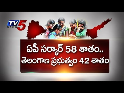 AP Govt Ready to Pay 58% fees | TS Govt Should Pay Remaining : TV5 News