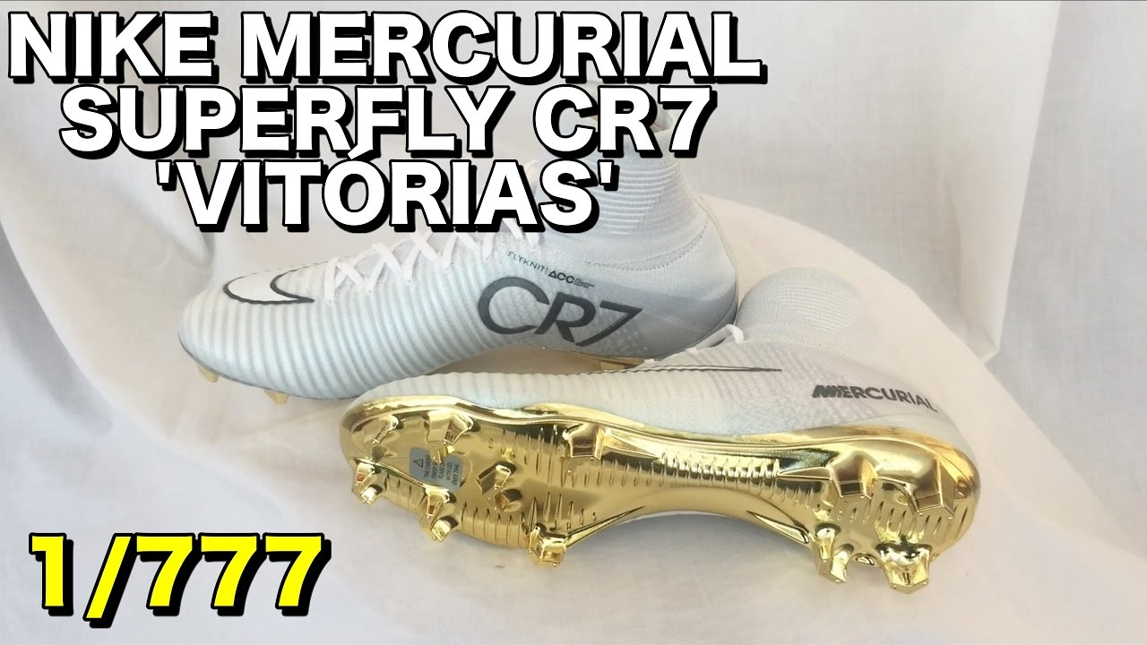 new product 10b6b 6dbab NIKE MERCURIAL SUPERFLY CR7 VITÓRIAS | Limited Edition | First Look |  Visual Overview