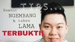 TIPS & CARA RAMBUT NGEMBANG + TAHAN LAMA - RAMBUT COWOK PRIA (INDONESIA)