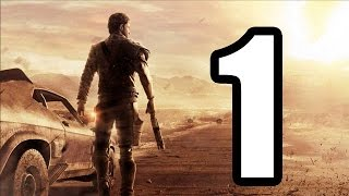 Mad Max WALKTHROUGH PART 1 PS4 【1080p】[ [HD]