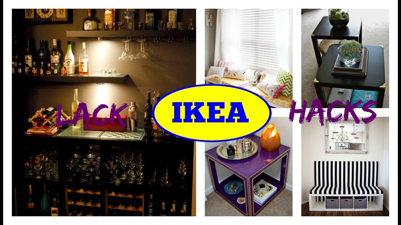 Ikea Furniture Hacks Lack Edition Youtube