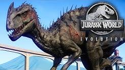Jurassic World Evolution #36 - Der NEUE INDOMINUS REX HYBRID namens MALUSAURUS! | LP JW Deutsch