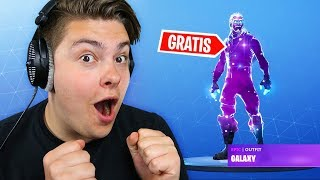 How to get the GALAXY SKIN in Fortnite for FREE!