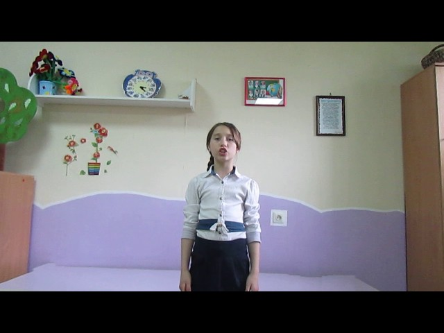 Изображение предпросмотра прочтения – ДашаПапуловская читает произведение «Рассказ танкиста» А.Т.Твардовского