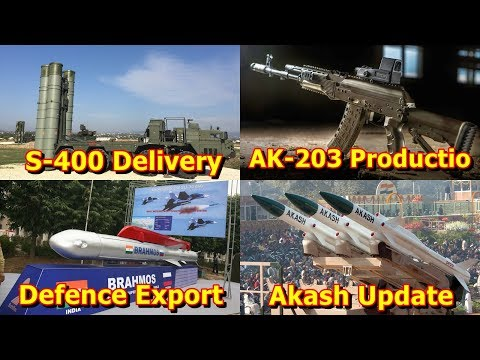 Defence Update 7th Nov 2019 (Part-1)| AK-203 Production, S-4