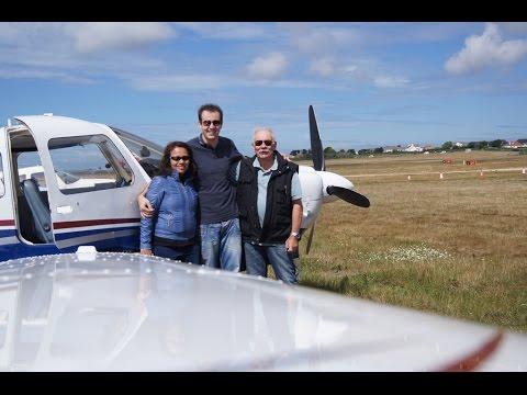 Flight Jersey - La Rochelle July 2014 with our Piper Arrow III