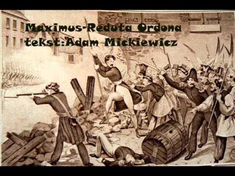 Maximus-Reduta Ordona [Tekst:Adam Mickiewicz]{Patriotyczny Utwór]