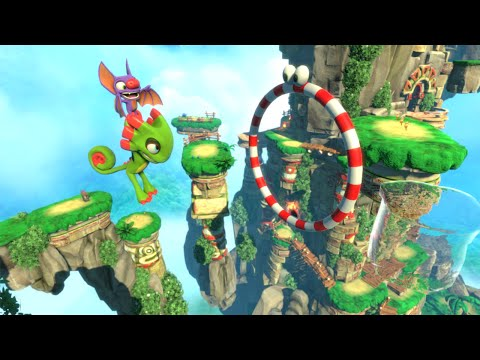 Yooka Laylee   Release Date Trailer  E3 2016 Poster