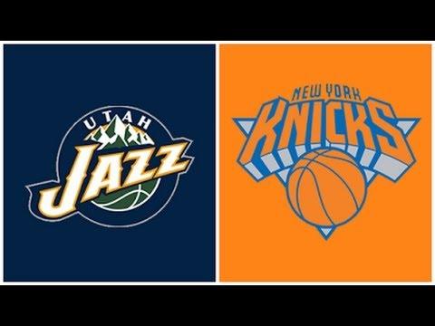NBA - NY KNICKS VS  UTAH JAZZ  06 NOV 2016 - 4TH QUARTER