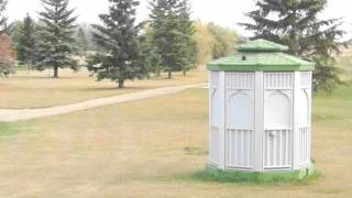 Cabanacan Golf Course Portable Washroom Unit Powered By Solar