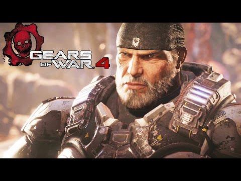 GEARS OF WAR 4 All Cutscenes Movie (Game Movie) FULL STORY