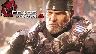 GEARS OF WAR 4 All Cutscenes Movie (Game Movie) FULL STORY
