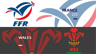 World Rugby U20s 2019 - France v Wales - FULL MATCH