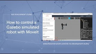 [ROS Q&A] 003 - How to control a Gazebo simulated robot with MoveIt! (UR5) - Tutorial
