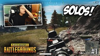 I HATE Playing SOLOS in PUBG Xbox #1! FULL GAME!! (Xbox One X)