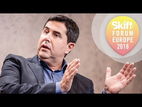 Hotelbeds Group Executive Chairman at Skift Forum Europe 2018