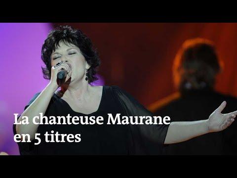 Mort de Maurane : la carrière de la chanteuse en cinq titres