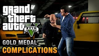 GTA 5 - Mission #3 - Complications [100% Gold Medal Walkthrough]