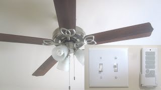 Install Remote Control for Ceiling Fan with Light