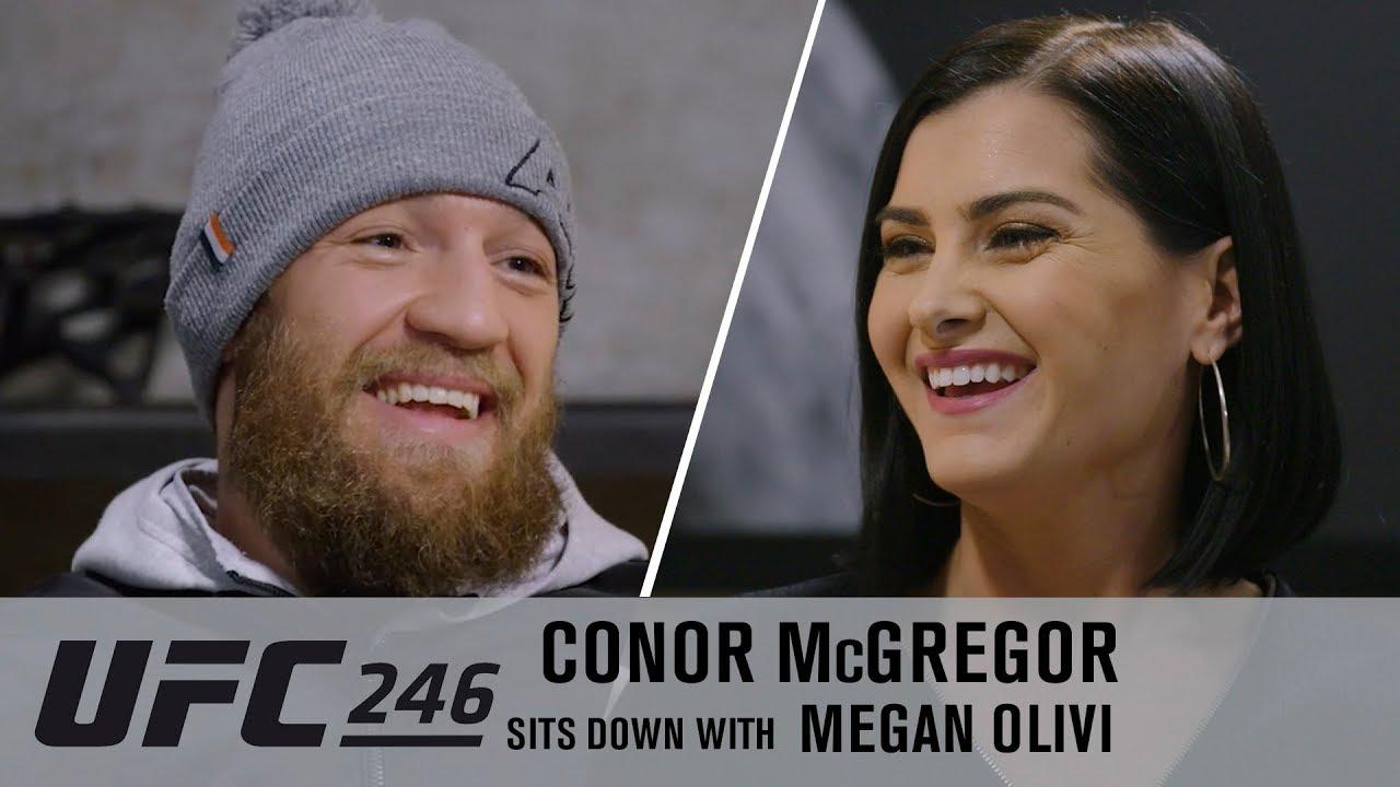Conor McGregor Exclusive Interview with Megan Olivi Ahead of UFC 246