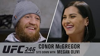 Conor McGregor Exclusive Interview with Megan Olivi Ahead of UFC 246
