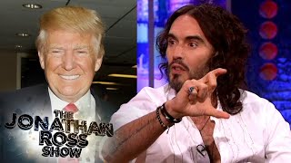 """Russell Brand Recounts Donald Trump's """"Charming"""" Tower Welcome 