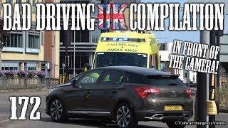 Bad Driving UK Compilation 172
