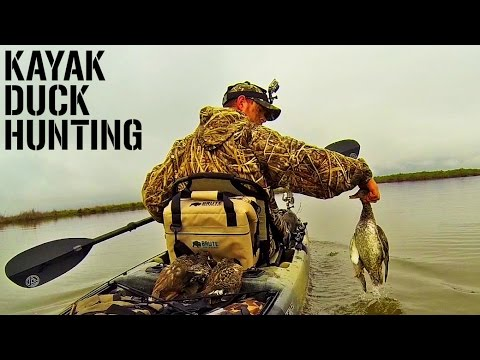 Kayak Duck Hunting on the Texas Coast