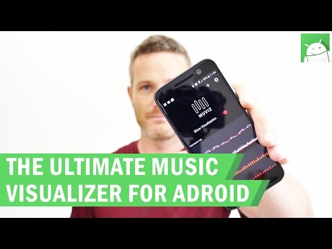 How to add a music visualizer to your smartphone's navigation bar